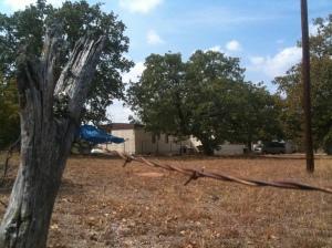 Simmons' former home at 210 Cortez Trail in Buchanan Dam, Texas